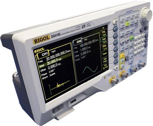 Rigol DG4162 Arbiträr-Funktionsgenerator, Frequenzbereich 1 µHz - 160 MHz, 2 Kanäle, 14 bit Vertikal-Auflösung, Integrie