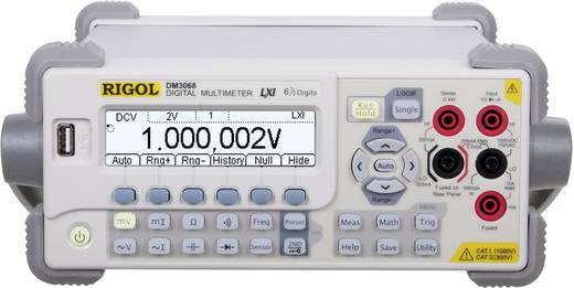 Tisch-Multimeter digital Rigol DM3068 Kalibriert nach: DAkkS CAT II 300 V Anzeige (Counts): 2200000