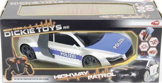 Dickie Toys 201119059 Highway Patrol 1:16 RC Einsteiger Modellauto Elektro