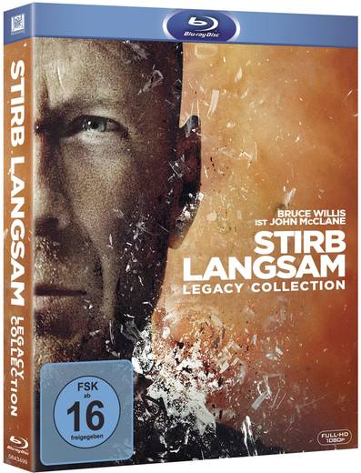 blu-ray Stirb Langsam 1-5 - Legacy Collection FSK: 16