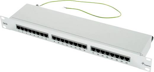 24 Port Netzwerk-Patchpanel Telegärtner J02023B0017 CAT 5e 1 HE