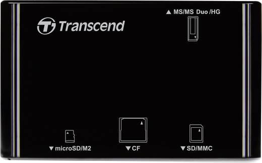 Externer Speicherkartenleser USB 2.0 Transcend P8 Schwarz