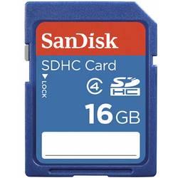 Pamäťová karta SDHC, 16 GB, SanDisk SDSDB-016G, Class 4