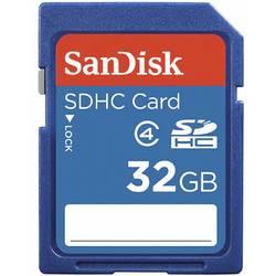 Pamäťová karta SDHC, 32 GB, SanDisk SDSDB-032G, Class 4