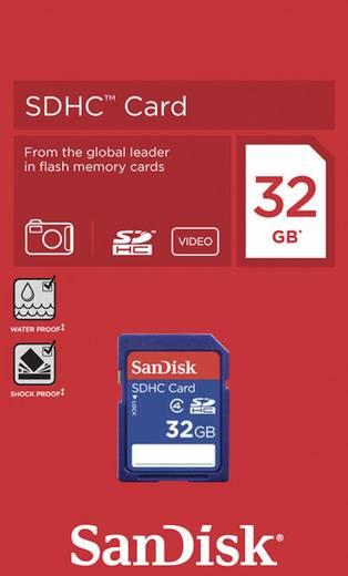 SDHC-Karte 32 GB SanDisk SDSDB-032G Class 4