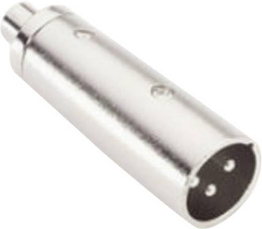 Audio Adapter [1x XLR-Stecker - 1x Cinch-Buchse] Silber Adam Hall