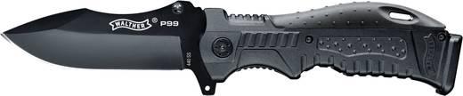 Outdoormesser mit Holster, mit Griffrücken-Einsätze Walther P99 Knife 5.0749 Schwarz