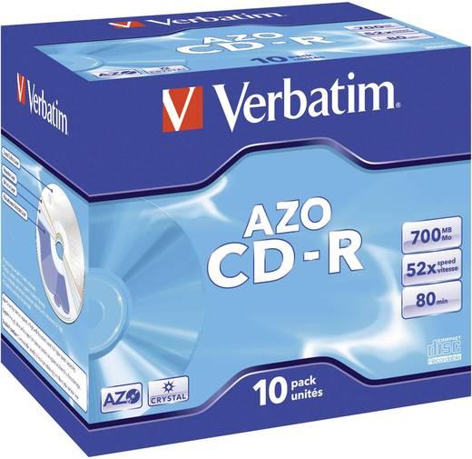 CD-R 80 Rohling 700 MB Verbatim 43327 10 St. Jewelcase