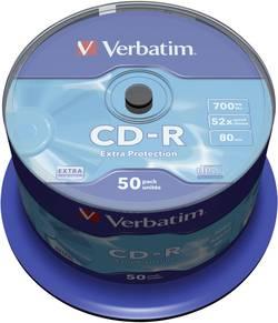 CD-R 80 700 MB Verbatim 43351 50 ks vřeteno