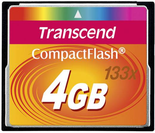 CF-Karte 4 GB Transcend Standard 133x