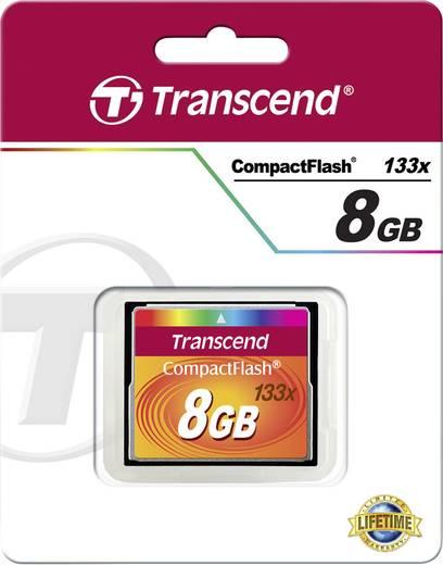 CF-Karte 8 GB Transcend Standart 133x