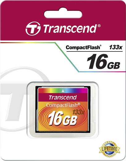 CF-Karte 16 GB Transcend Standard 133x