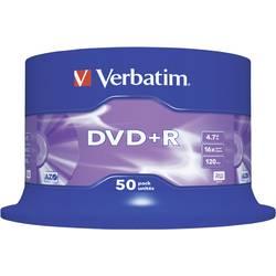 DVD+R 4.7 GB Verbatim 43550, 50 ks, vřeteno