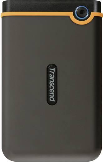 Externe Festplatte 6.35 cm (2.5 Zoll) 1 TB Transcend StoreJet 25M2 Dunkel-Grau, Orange USB 2.0