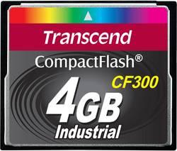 Paměťová karta CF Transcend Industrial, CF300, 4GB, 300x - TRANSCEND 4GB TS4GCF300