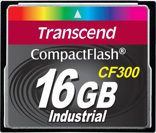 Transcend CF Karte 16 GB 300x Industrial 300