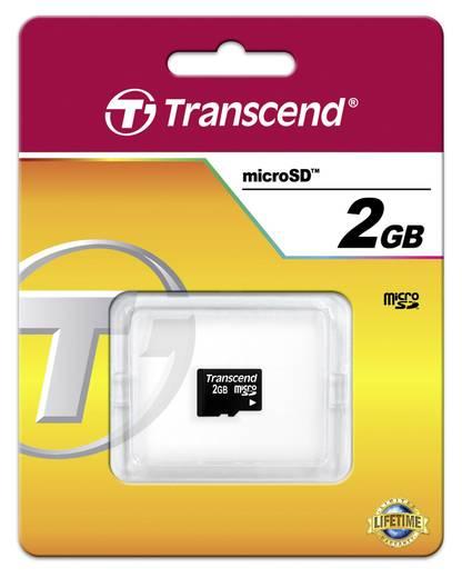 microSD-Karte 2 GB Transcend Class 2