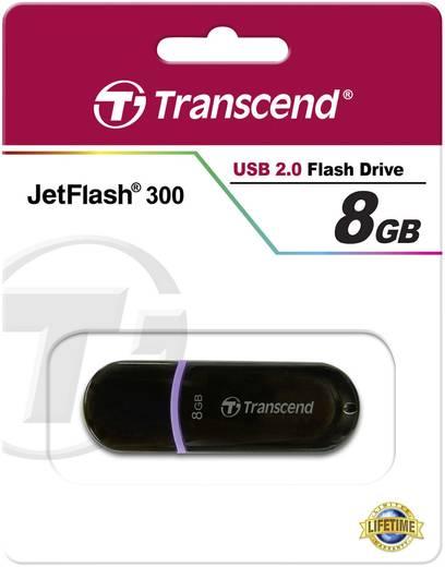 USB-Stick 8 GB Transcend JetFlash® 300 Lila TS8GJF300 USB 2.0