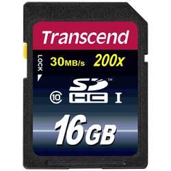 Paměťová karta SDHC 16 GB Transcend Premium Class 10 - Transcend SDHC 16GB Class 10 TS16GSDHC10 - Transcend SDHC 16GB Class 10 TS16GSDHC10
