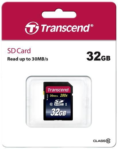 SDHC-Karte 32 GB Transcend Premium Class 10