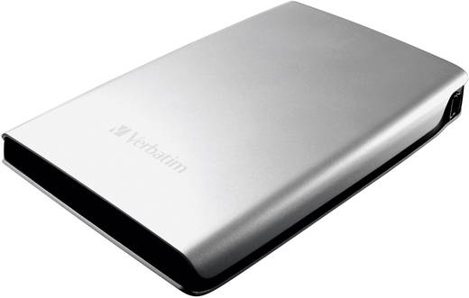 Externe Festplatte 6.35 cm (2.5 Zoll) 1 TB Verbatim Store 'n' Go Silber USB 3.0