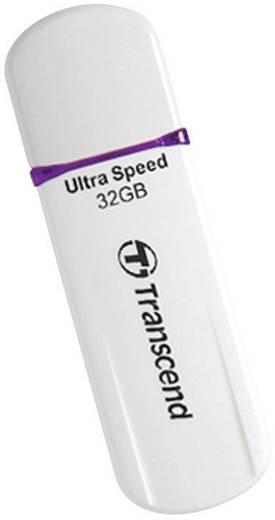 USB-Stick 32 GB Transcend JetFlash® 620 Weiß TS32GJF620 USB 2.0