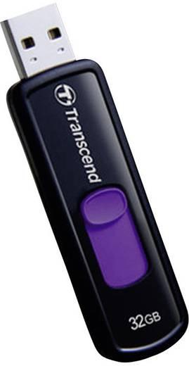 Transcend JetFlash® 500 USB-Stick 32 GB Lila TS32GJF500 USB 2.0