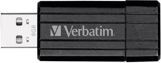Verbatim Pin Stripe USB-Stick 8 GB Schwarz 49062 USB 2.0