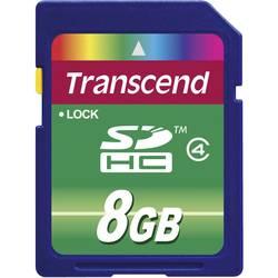 Pamäťová karta SDHC, 8 GB, Transcend Standard, Class 4