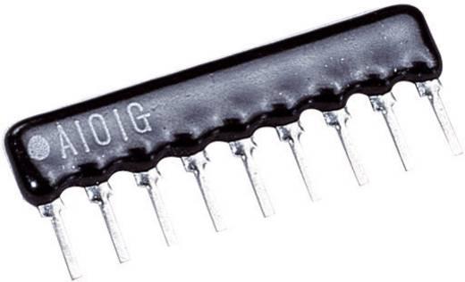Widerstandsnetzwerk 100 Ω SIP-8+1 0.125 W 1 St.