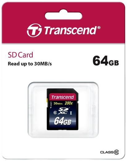 SDXC-Karte 64 GB Transcend Premium Class 10