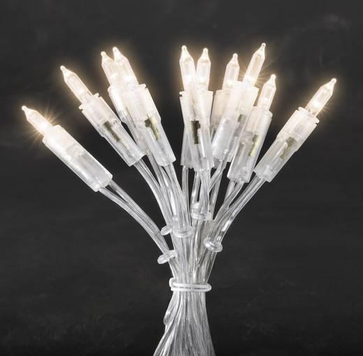 Mini-Lichterkette 50 LED Warm-Weiß Beleuchtete Länge: 7.35 m Konstsmide 6303-103