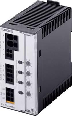 Bezpečnostní spínač na DIN lištu Block PM-0724-400-0, 40 A, 24 V/DC