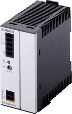 Bezpečnostní spínač na DIN lištu Block PM-0124-020-0, 48 W, 24 V/DC