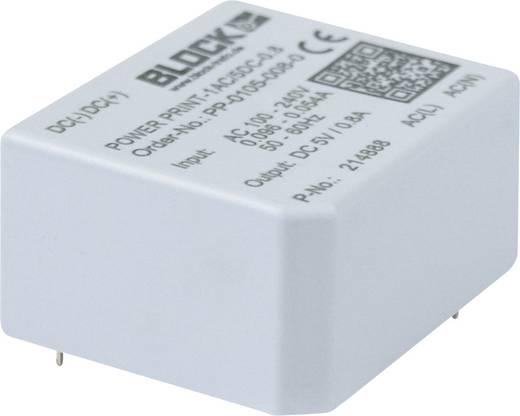 AC/DC-Printnetzteil Block PP-0109-005-0 9 V/DC 0.45 A 1.32 W