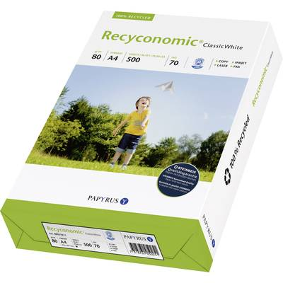 Recycling Druckerpapier Papyrus Recyconomic Classic White 88031811 DIN A4 80 g/m² 500 Blat Preisvergleich
