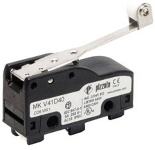 Mikroschalter 250 V/AC 6 A Pizzato Elettrica MKV12D40 IP65 tastend 10 St.