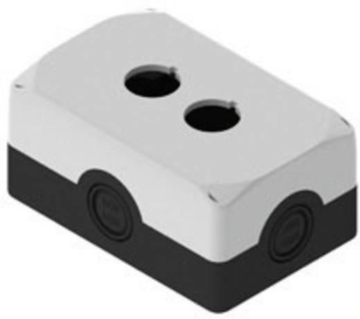 Leergehäuse 2 Einbaustellen (L x B x H) 120 x 80 x 56 mm Schwarz, Grau Pizzato Elettrica ES32000 5 St.