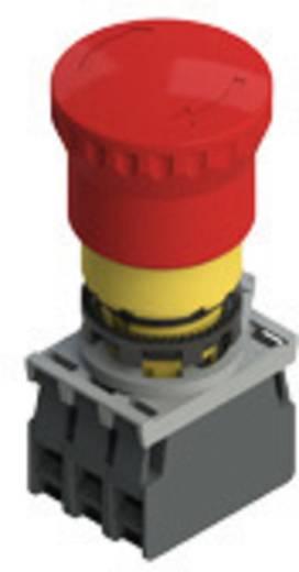 Not-Aus-Schalter 250 V/AC 6 A 2 Öffner, 1 Schließer Pizzato Elettrica E2AC-DXBC1000 IP67/IP69K 5 St.