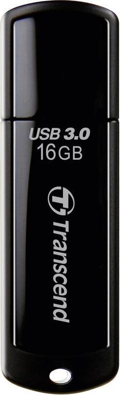 USB flash disk Transcend JetFlash® 700 TS16GJF700, 16 GB, USB 3.0, čierna