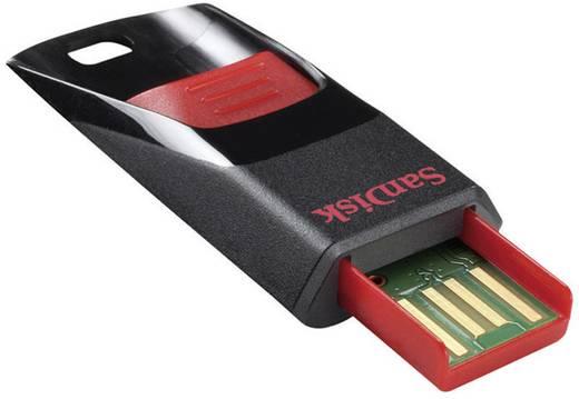 SanDisk® USB-Stick 8GB Cruzer® Edge™ schwarz/rot