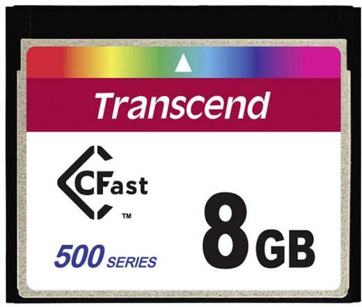 CFast-Karte 8 GB Transcend TS8GCFX500