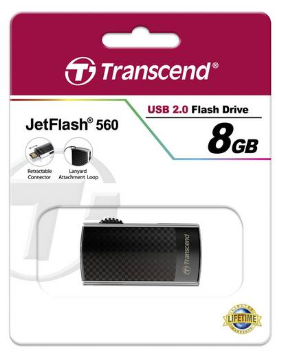 Transcend USB-Stick 8GB Jetflash 560