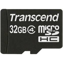 Pamäťová karta micro SDHC, 32 GB, Transcend Standard, Class 4