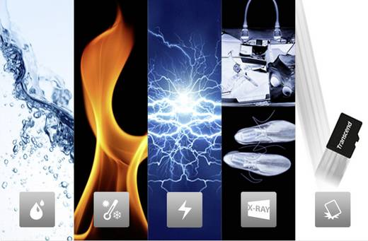 microSDHC-Karte 4 GB Transcend Premium Class 10 inkl. SD-Adapter