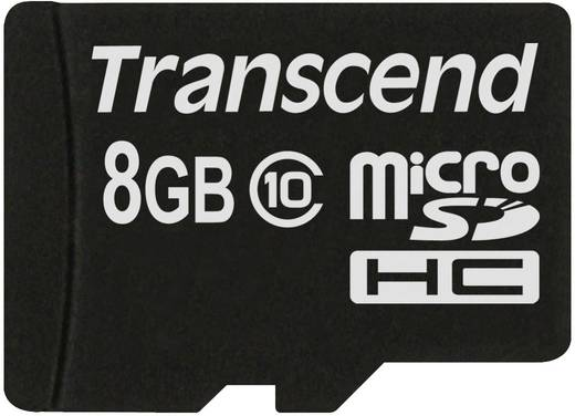 Transcend Premium microSDHC-Karte 8 GB Class 10 inkl. SD-Adapter