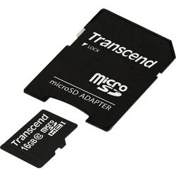 Pamäťová karta Micro SDHC 16 GB Transcend Premium Class 10, UHS-I vr. SD adaptéru
