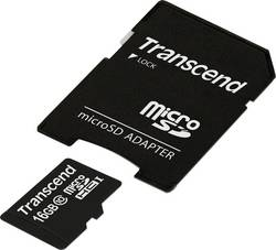Paměťová karta Micro SDHC 16 GB Transcend Premium Class 10, UHS-I vč. SD adaptéru