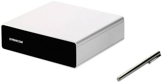 Externe Apple Mac Festplatte 8.9 cm (3.5 Zoll) 3 TB Freecom Hard Drive Quattro Silber USB 3.0, FireWire 400, FireWire 80