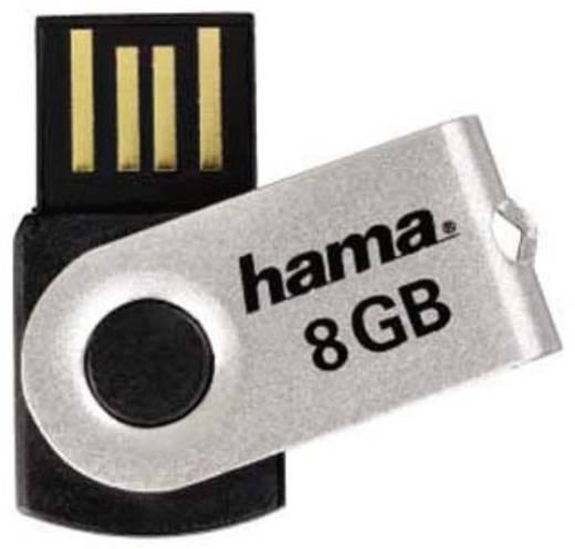 USB-Stick 8 GB Hama Rotate Schwarz 90891 USB 2.0